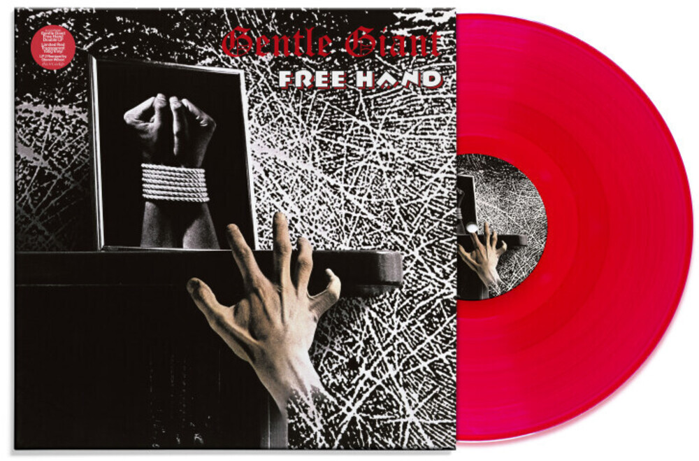 Gentle Giant - Free Hand: Steven Wilson Mix [Steven Wilson Mix + Flat Mix Limited Edition Red 2LP]