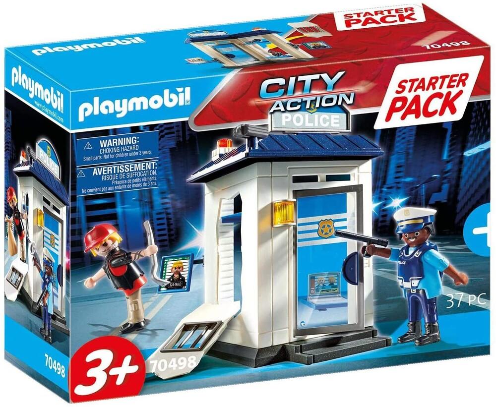 - City Action Police Station Starter Pack (Fig)
