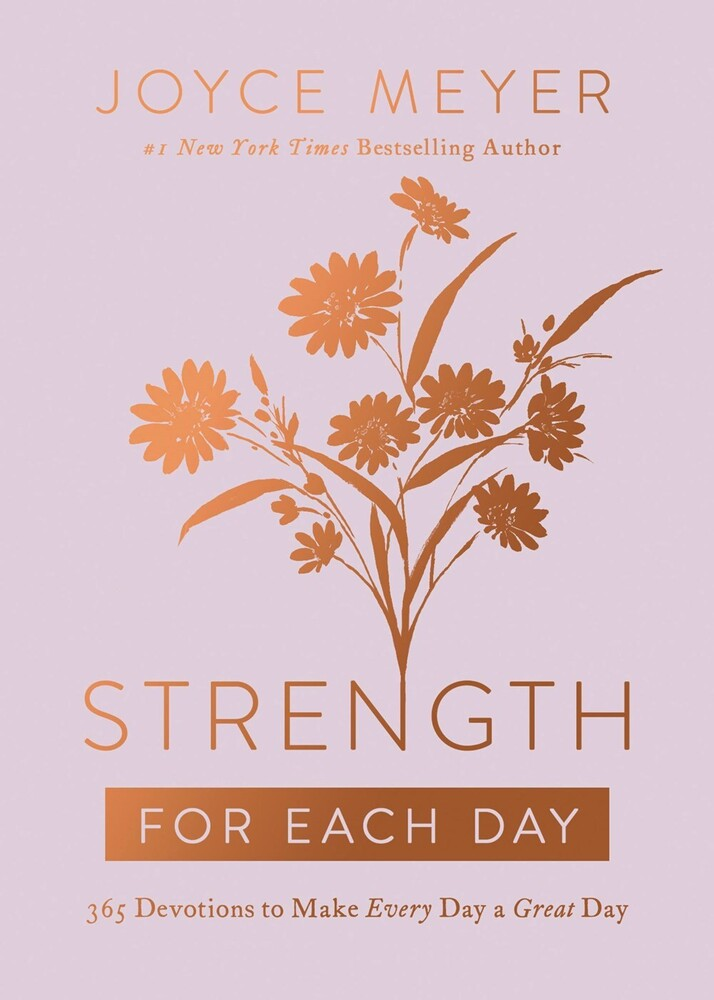 Joyce Meyer - Strength For Each Day (Hcvr)