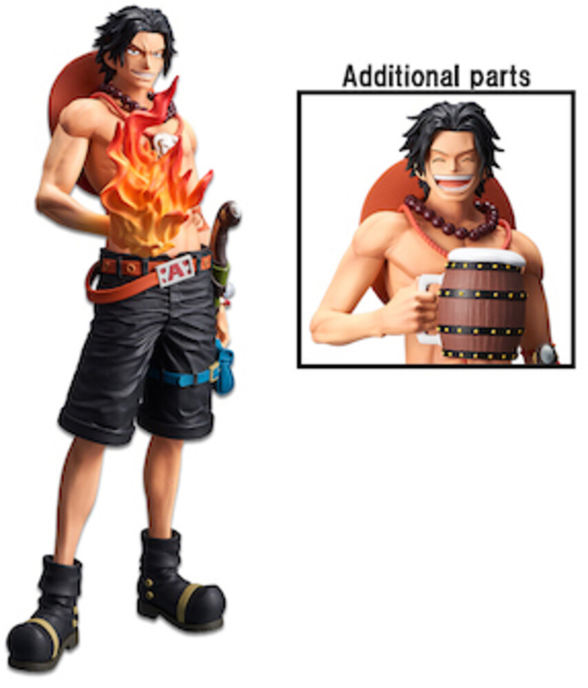 - One Piece Portgas.D.Ace Grandista Nero Figure