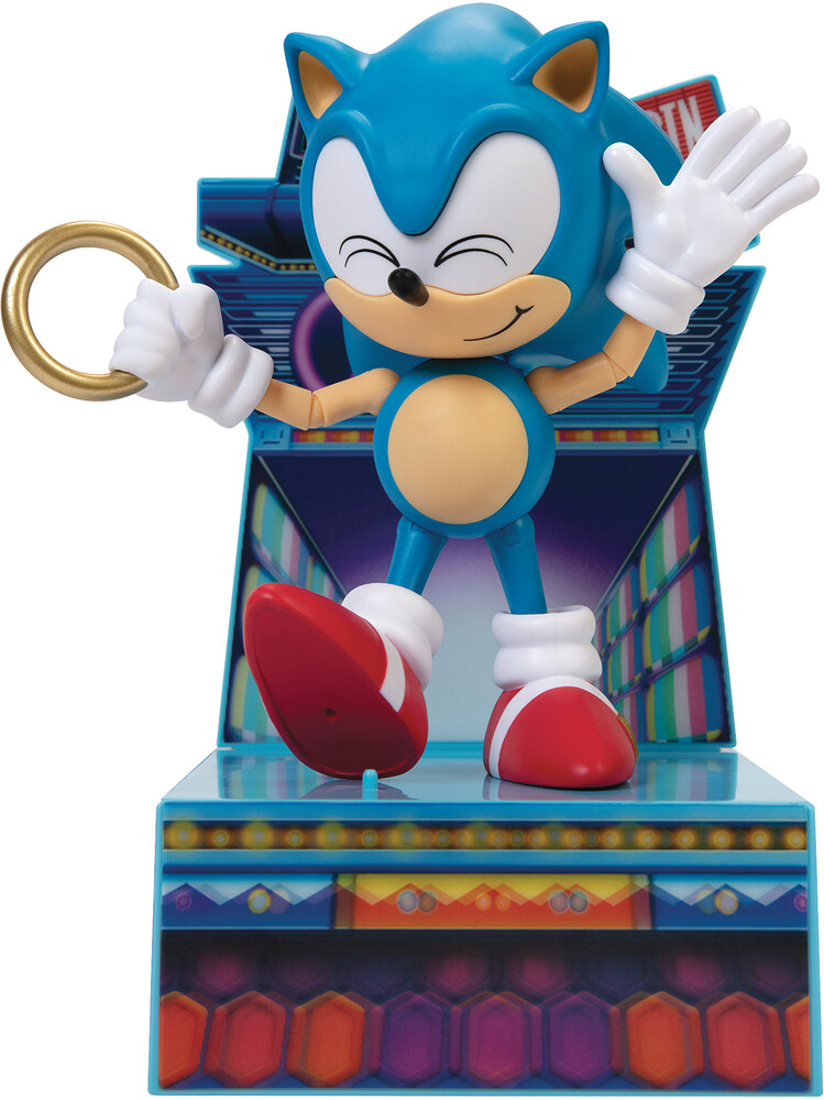 - Sonic The Hedgehog 6in Collector Af Cs (Net)