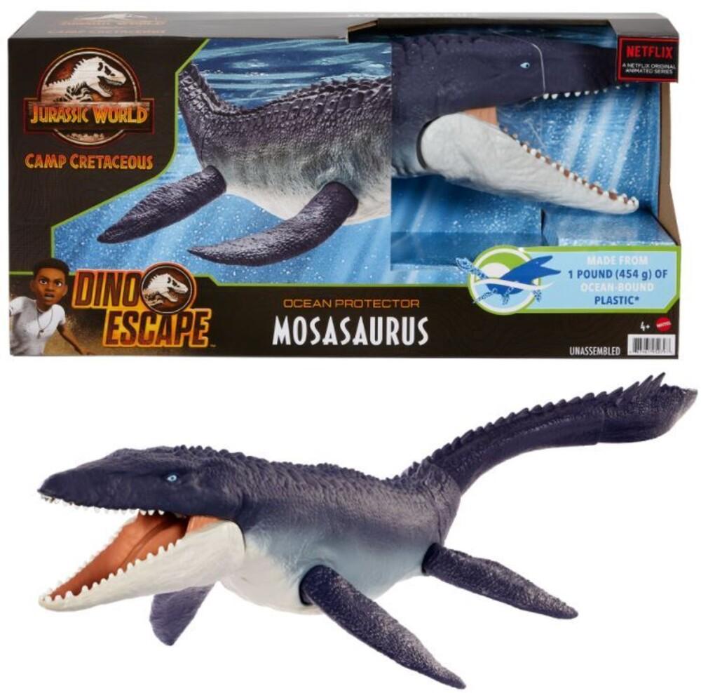 Jurassic World - Mattel - Jurassic World Ocean Protector Mosasaurus