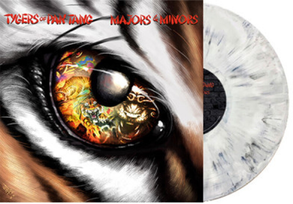 Tygers Of Pan Tang - Majors & Minors (Marble White Vinyl)