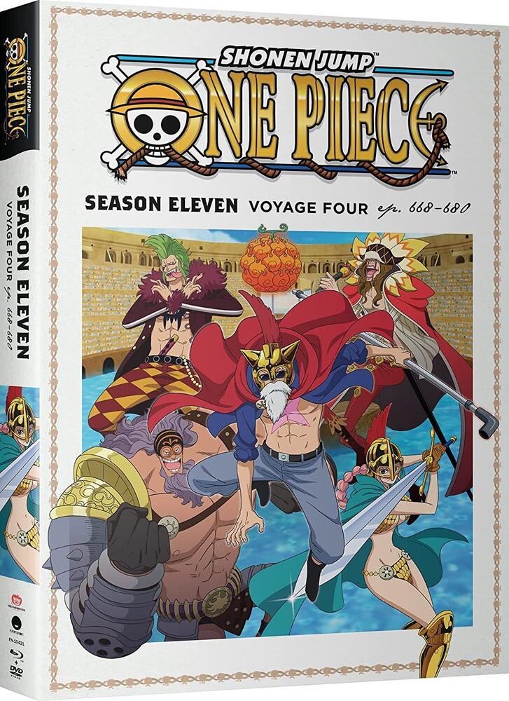 One Piece: Season Eleven Voyage Four - One Piece: Season Eleven Voyage Four (4pc) (W/Dvd)