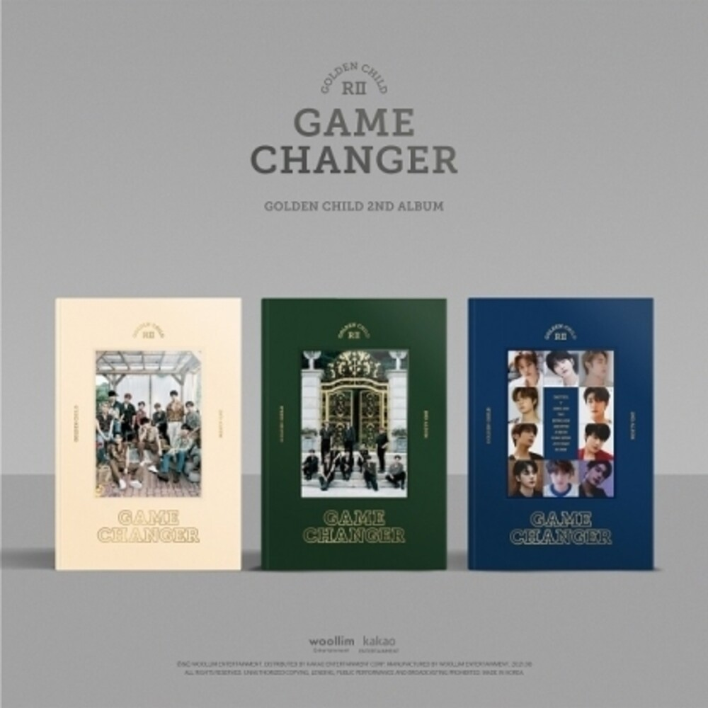 Golden Child - Game Changer [With Booklet] (Pcrd) (Phot) (Asia)