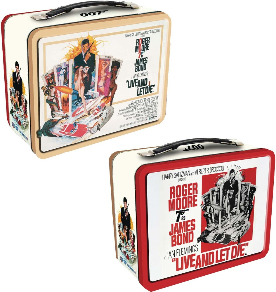 James Bond 007 - Live and Let Die Tin Tote - James Bond 007 - Live And Let Die Tin Tote (Tin)