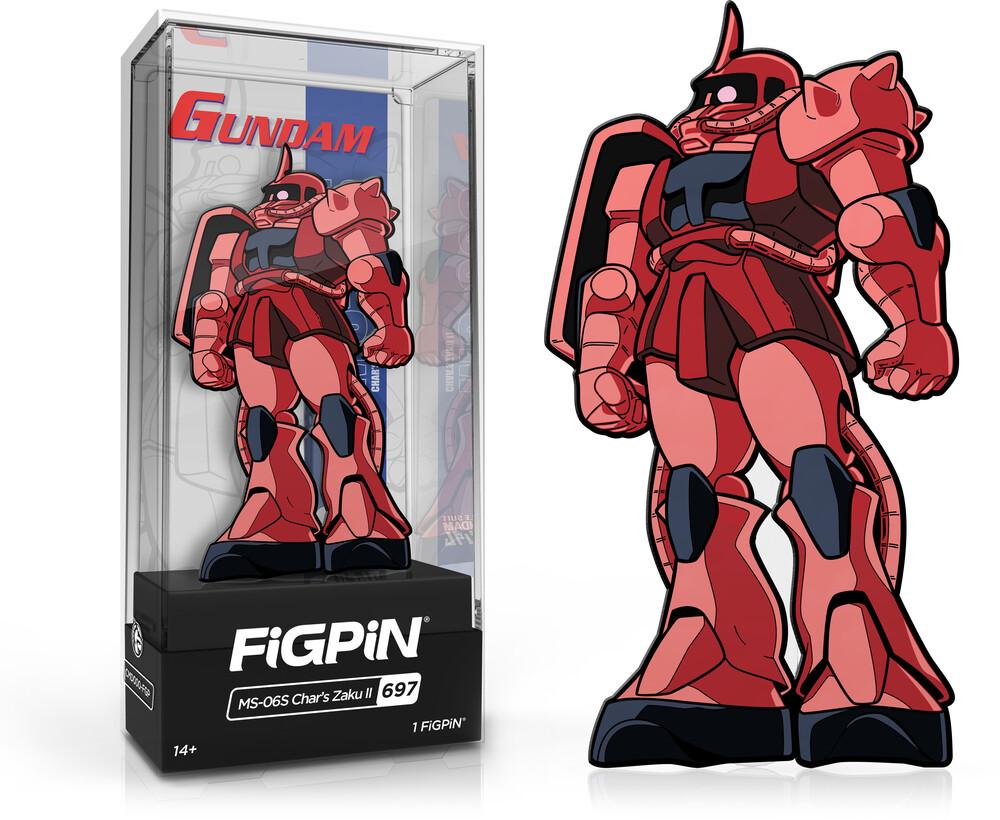 Figpin Gundam Ms-065 Chars Zaku II #697 - Figpin Gundam Ms-065 Chars Zaku Ii #697 (Clcb)