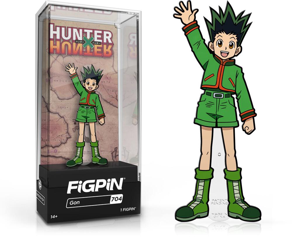 Figpin Hunter X Hunter Gon #704 - FiGPiN Hunter X Hunter Gon #704