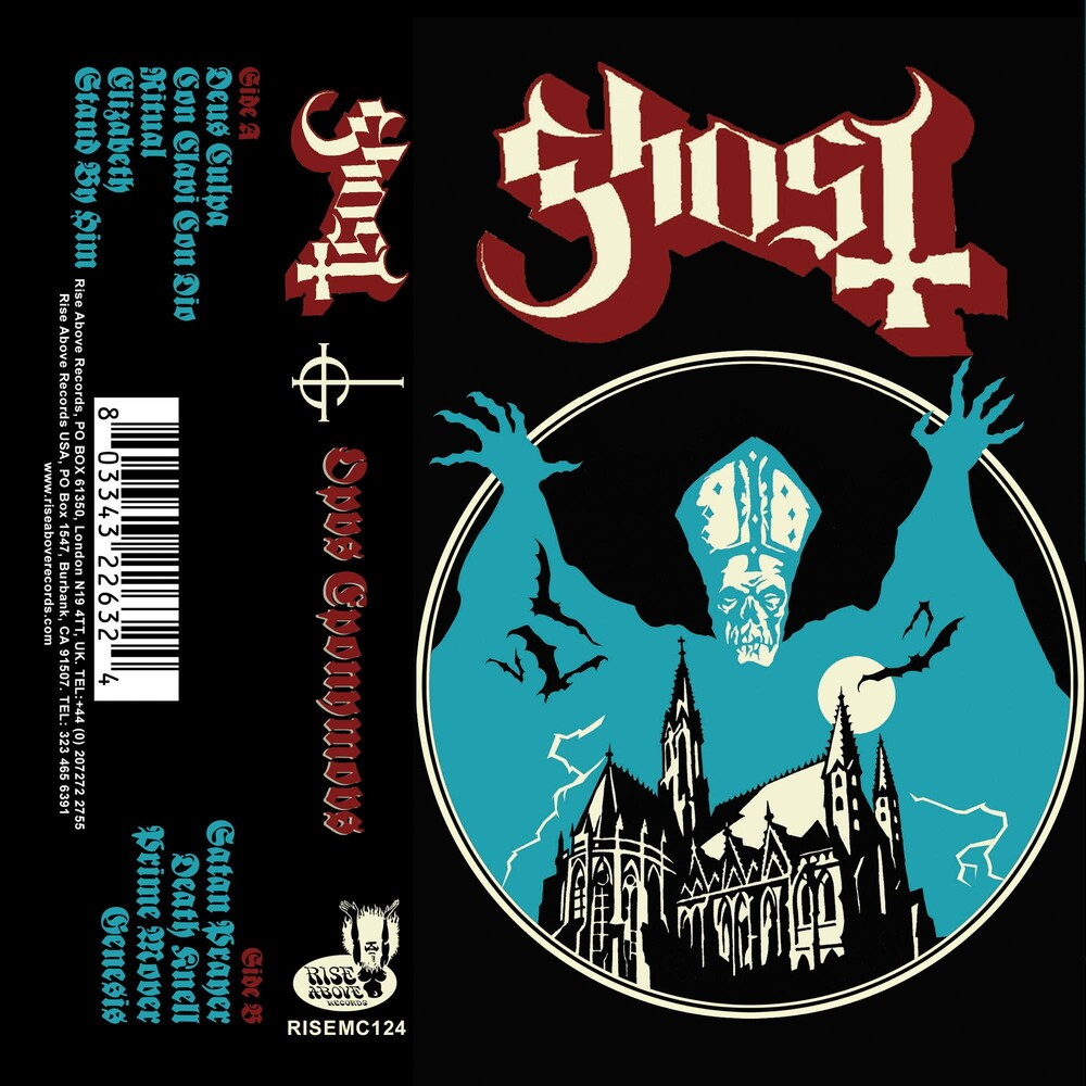 Ghost - Opus Eponymous [Cassette]