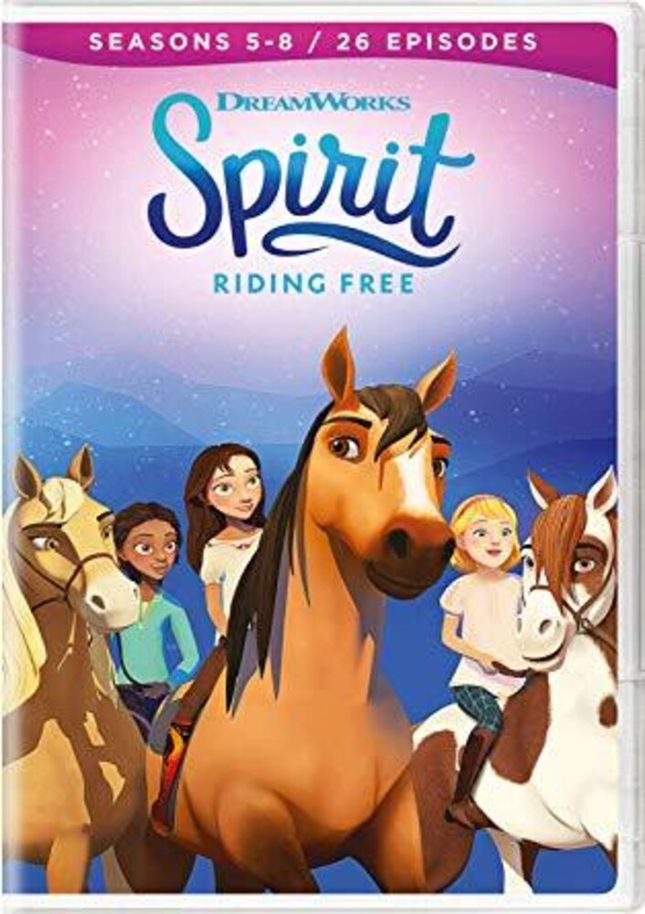 - Spirit Riding Free: Seasons 58 (4pc) / (Box)