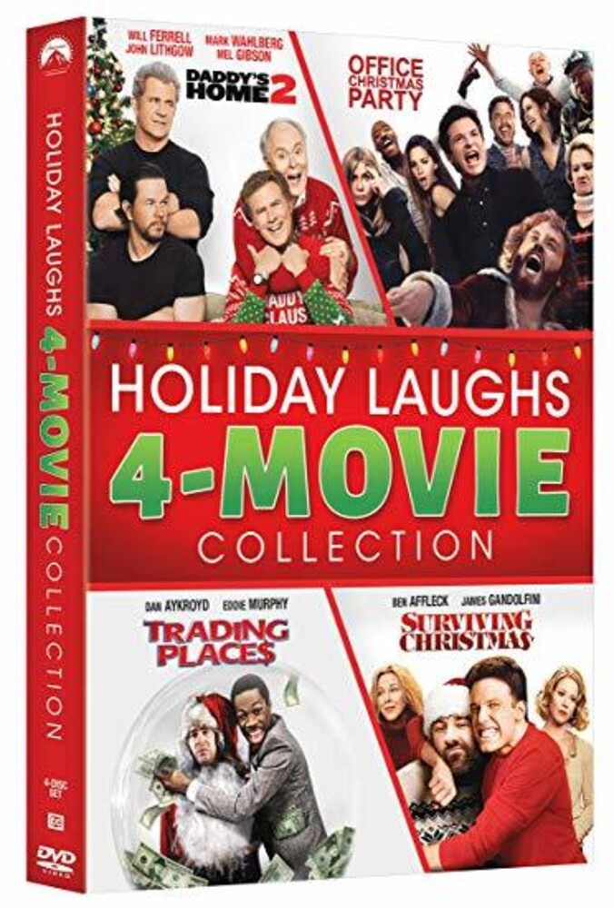 Holiday Laughs 4-Movie Collection - Holiday Laughs 4-Movie Collection (4pc) / (Box Ws)