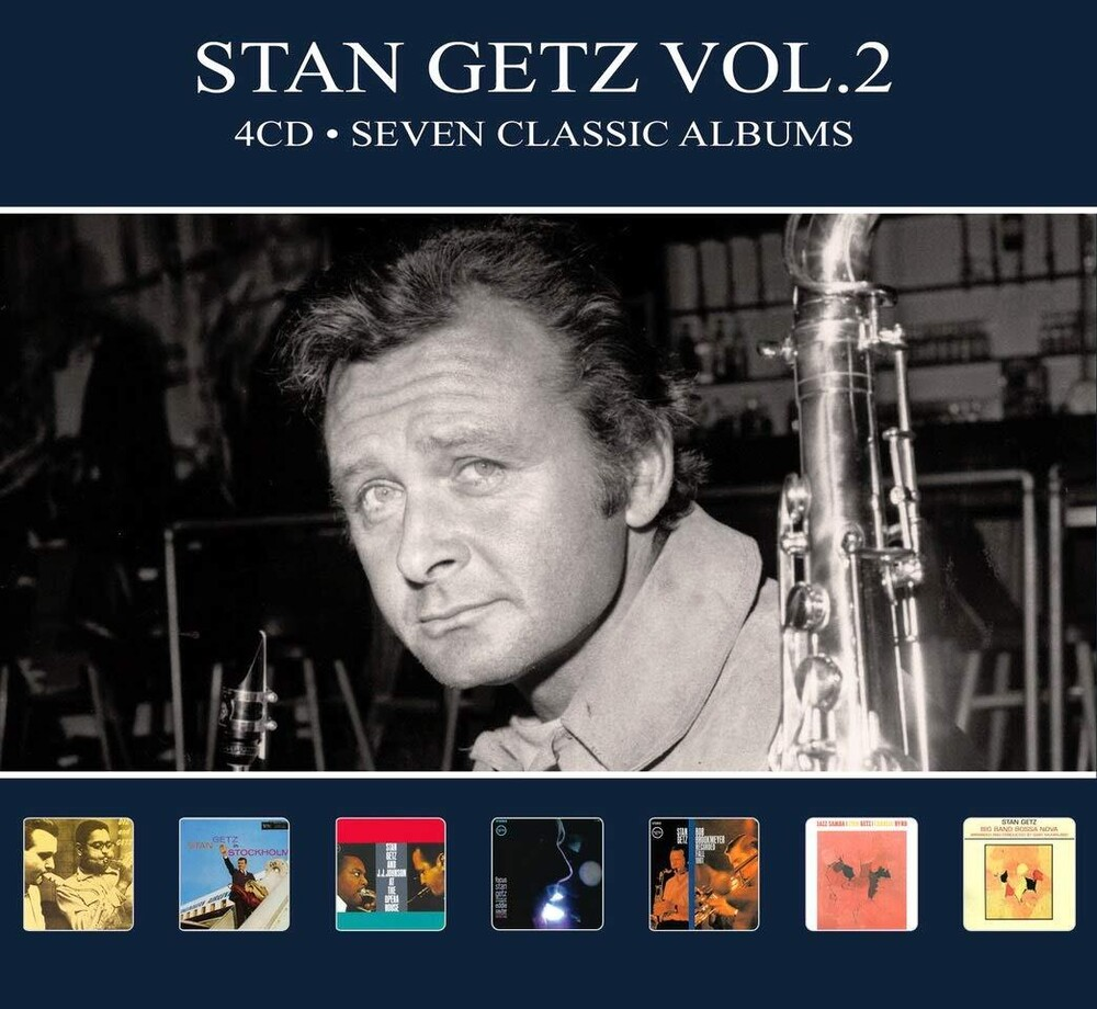 Stan Getz - Seven Classic Albums Vol 2 [Digipak] (Hol)