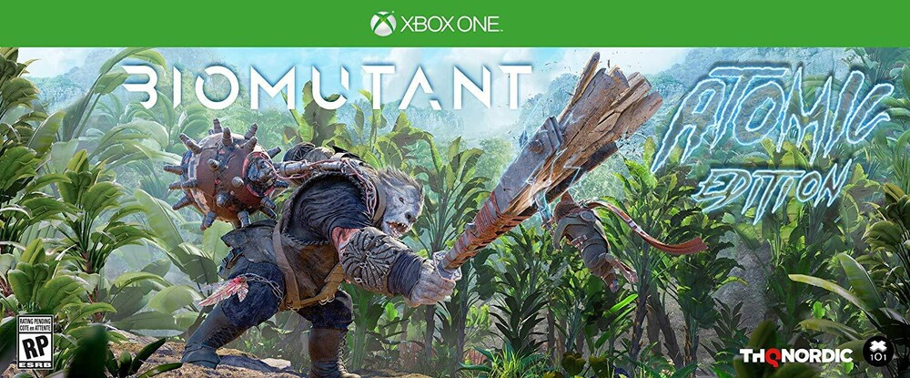 - Biomutant Atomic Edition for Xbox One