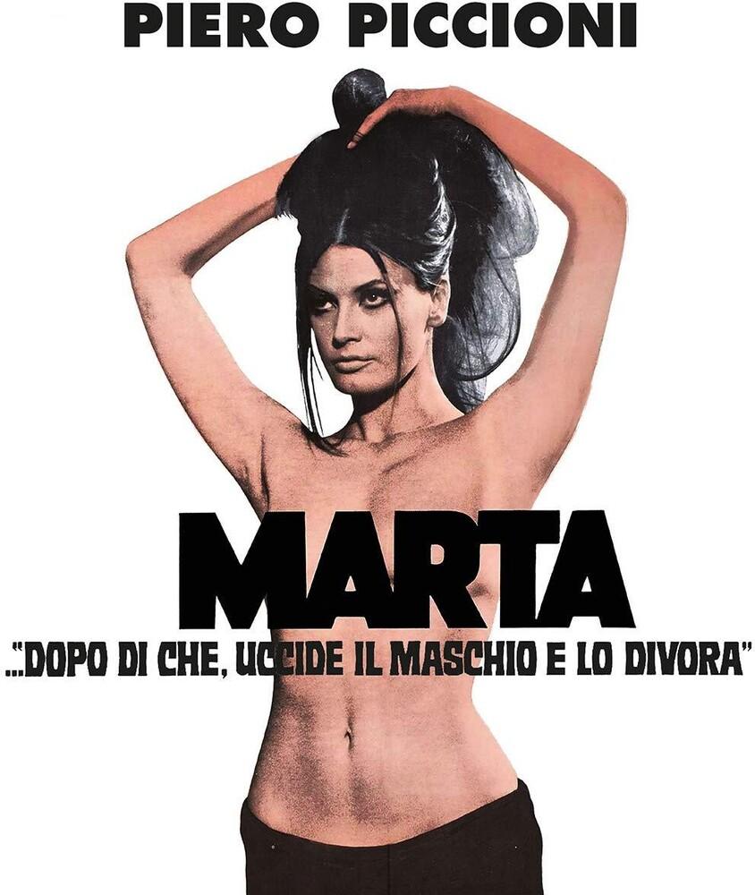 Piero Piccioni Wht Ita - Marta...Dopo Di Che, Uccide Il Maschio E Lo Divora (Original Soundtrack)