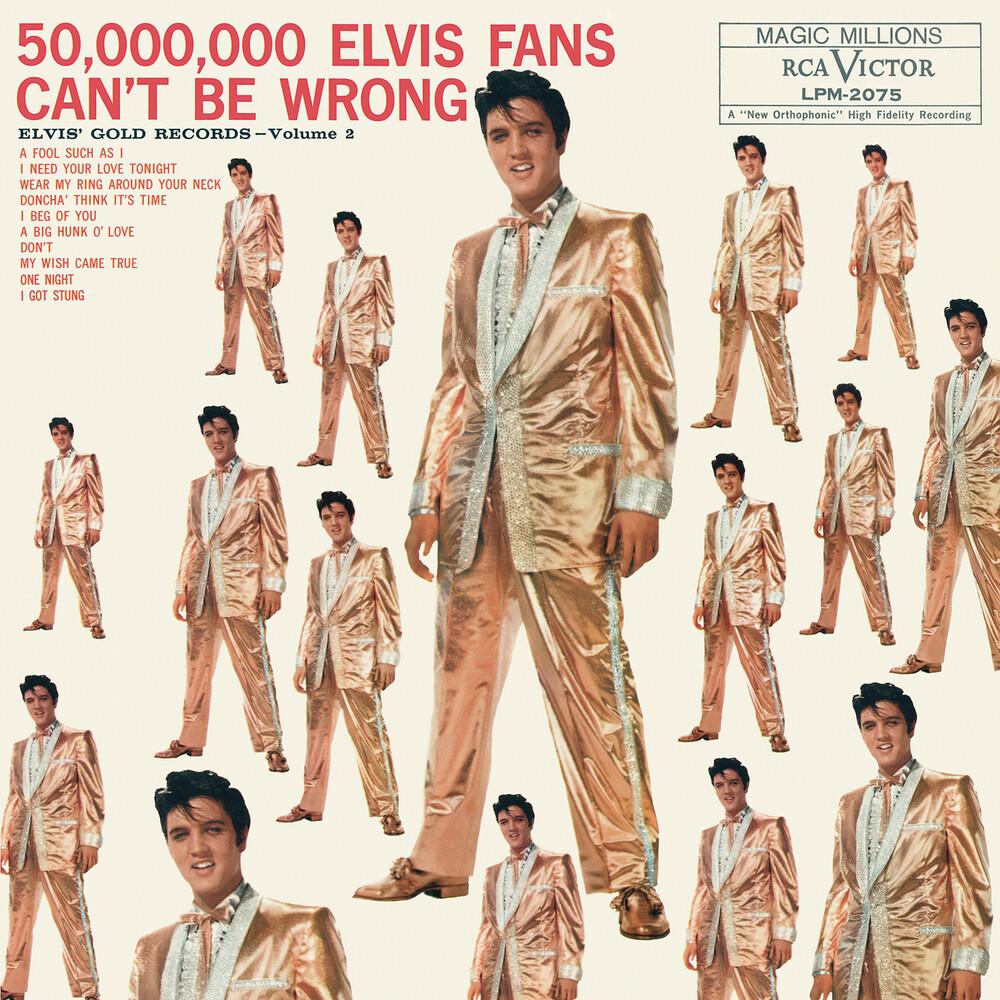 Elvis Presley - 50,000,000 Elvis Fans Can't Be Wrong: Elvis' Gold Records Volume 2