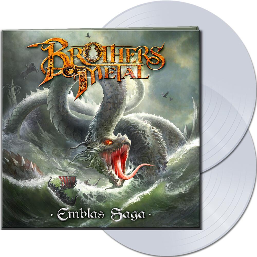 Brothers of Metal - Emblas Saga (Clear Vinyl) [Clear Vinyl] (Gate) [Limited Edition]