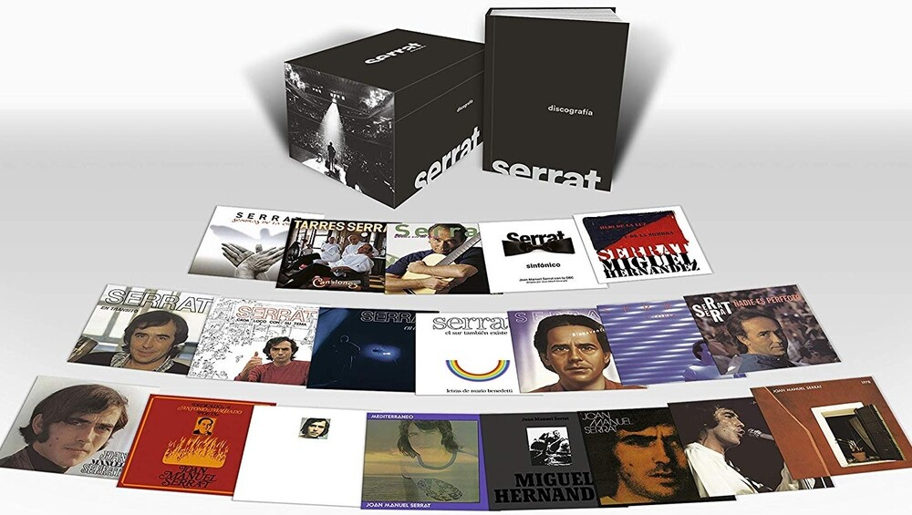 Joan Serrat Manuel - Discografia En Castellano (20CD Box Set)