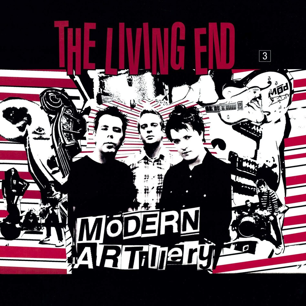 Living End - Modern Artillery [Colored Vinyl] [Limited Edition] (Red) (Hol)