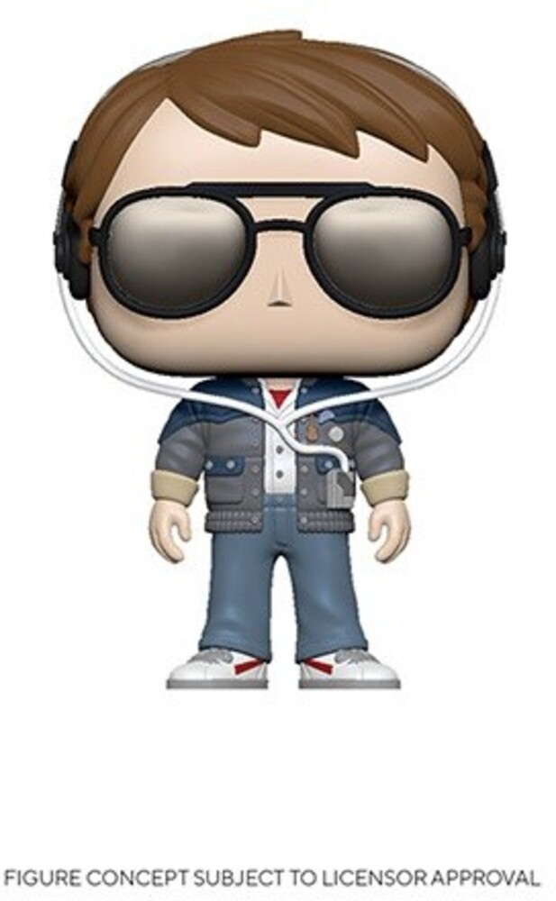 - FUNKO POP! MOVIES: Back to the Future- Marty w/ Glasses