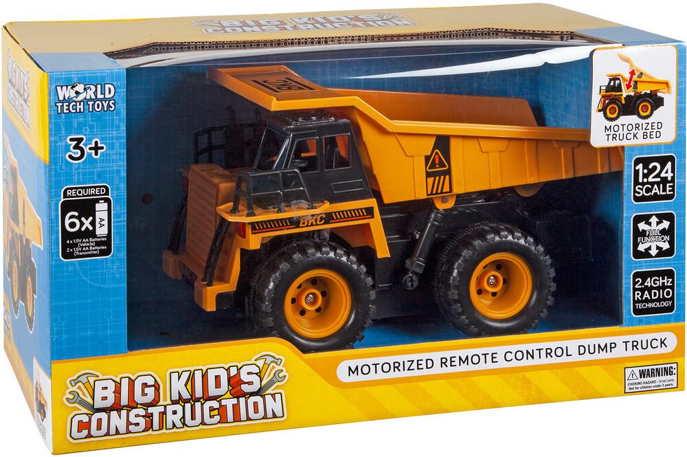 Rc Vehicles - Big Kid's Construction: 1:24 RC Dump Truck