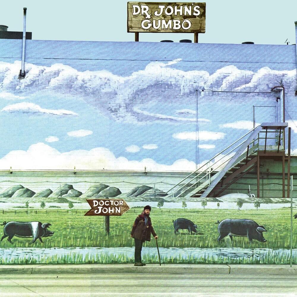 Dr. John - Dr. John's Gumbo [Limited Turquoise Marble Colored Vinyl]