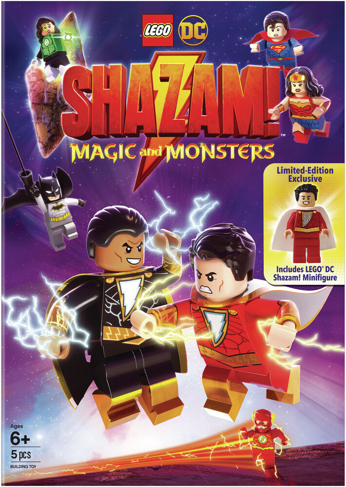- Lego Dc Shazam: Magic & Monsters / (Fig Gift)