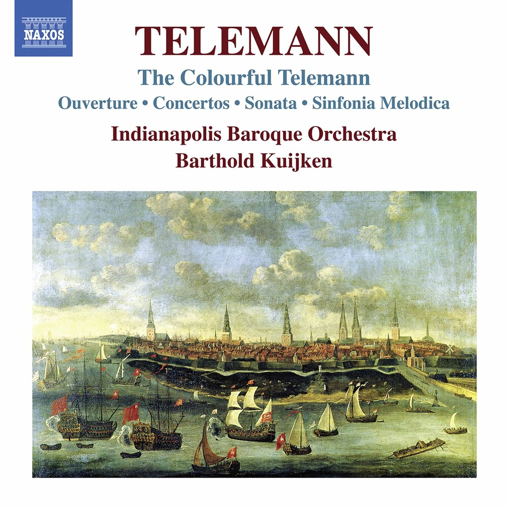 Indianapolis Baroque Orchestra - Colourful Telemann