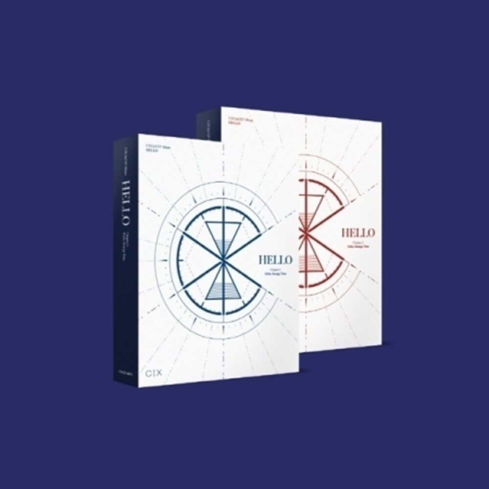 Cix - Hello, Strange Time (Random Cover) (incl. 84pg Photobook, 2pc Photocard, Folded Poster, Postcard, Sticker, Illustrated Card + Ba