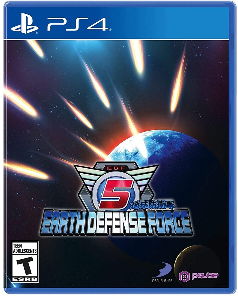 Ps4 Earth Defense Force 5 - Earth Defense Force 5 for PlayStation 4