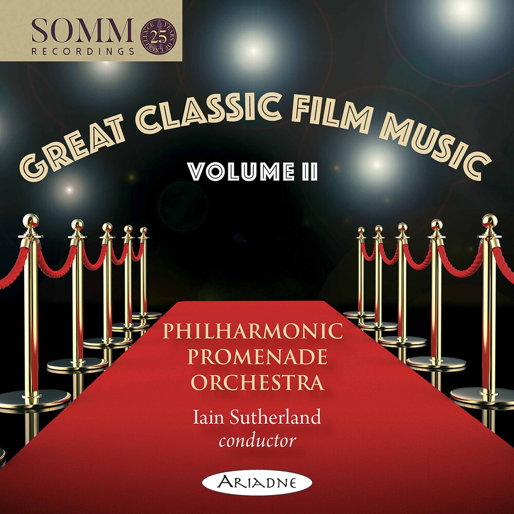 Philharmonic Promenade Orchestra - Great Classic Film Music 2 / Various
