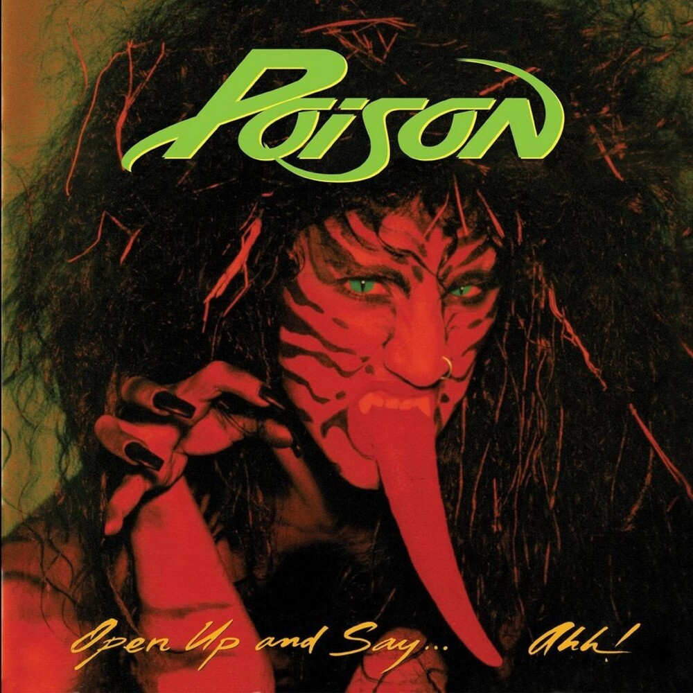 Poison - Open Up And Say . . . Ahh! [Limited Edition Gold LP]