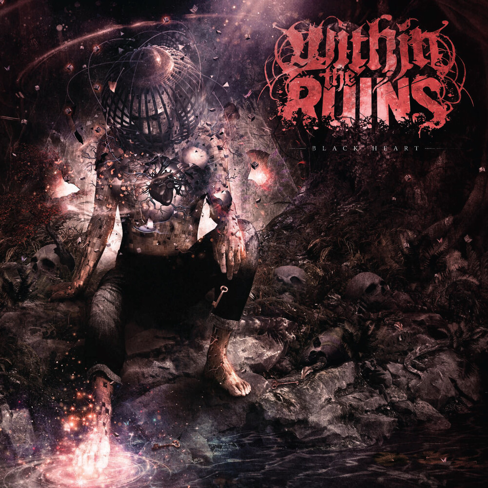 Within The Ruins - Black Heart (Opaque Apple Red & Opaque Silver Vinyl)