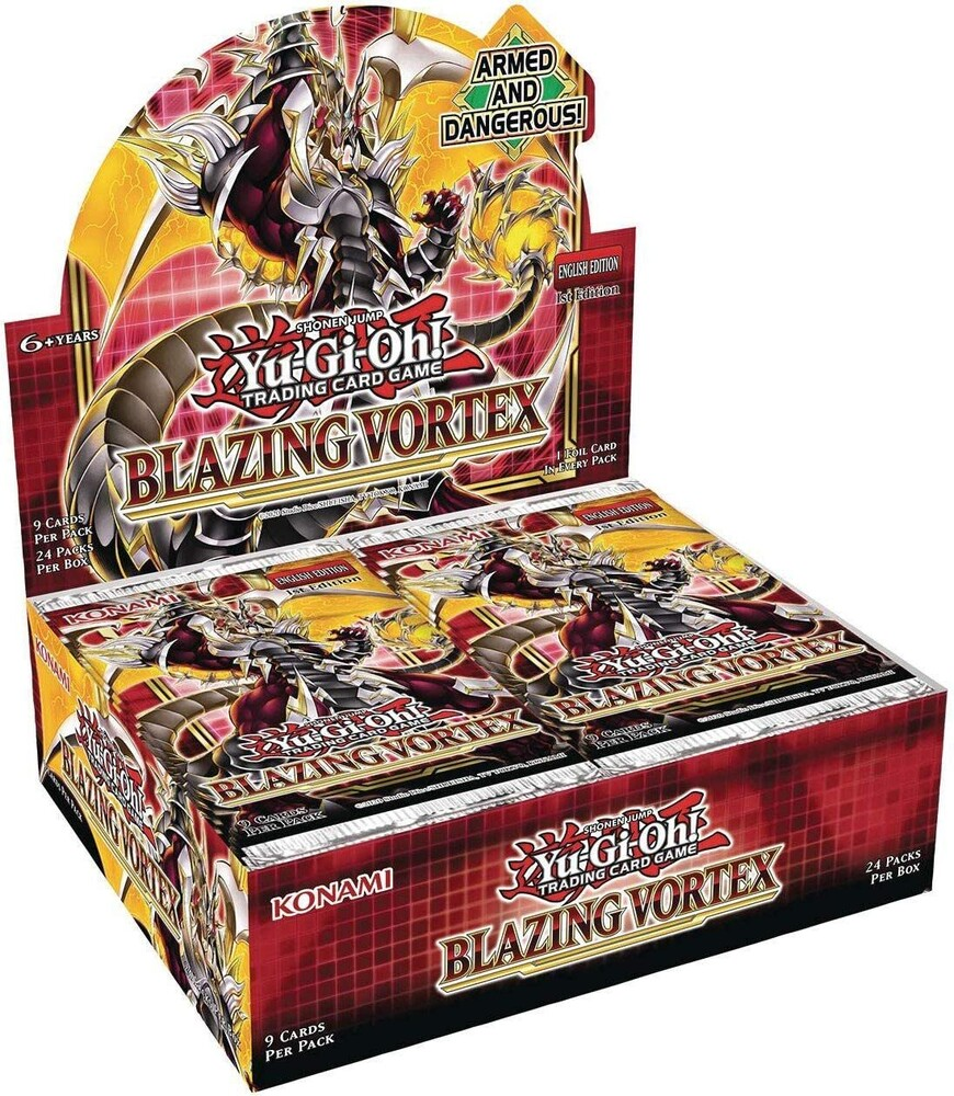 Yu-Gi-Oh! Blazing Vortex Booster Display - Yu-Gi-Oh! Blazing Vortex Booster - Display