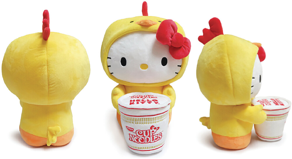- NECA - Hello Kitty X Nissin Cup Noodle 16 Plush Chicken Cup