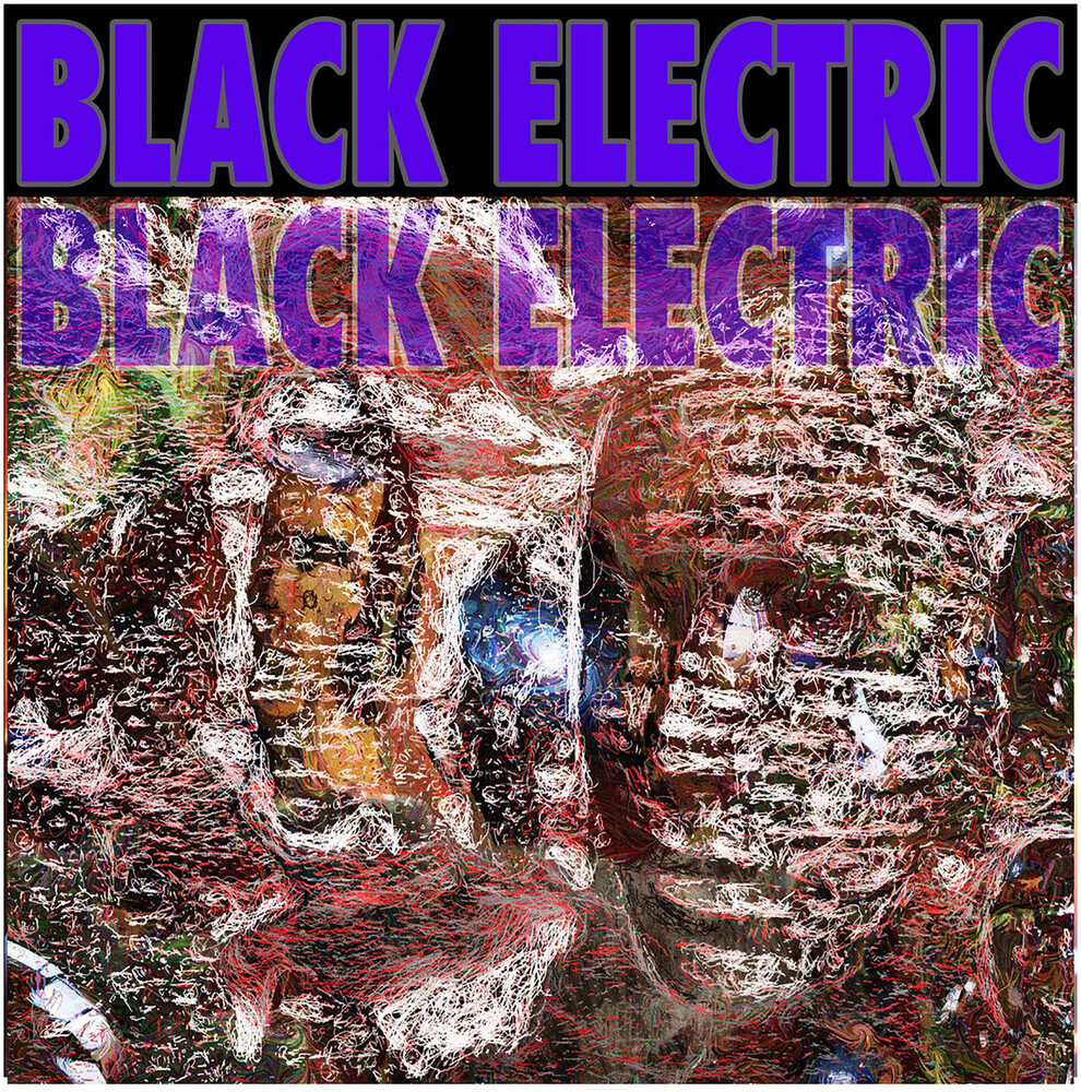 Black Electric - Black Electric (Purple / Blue with Splatter)
