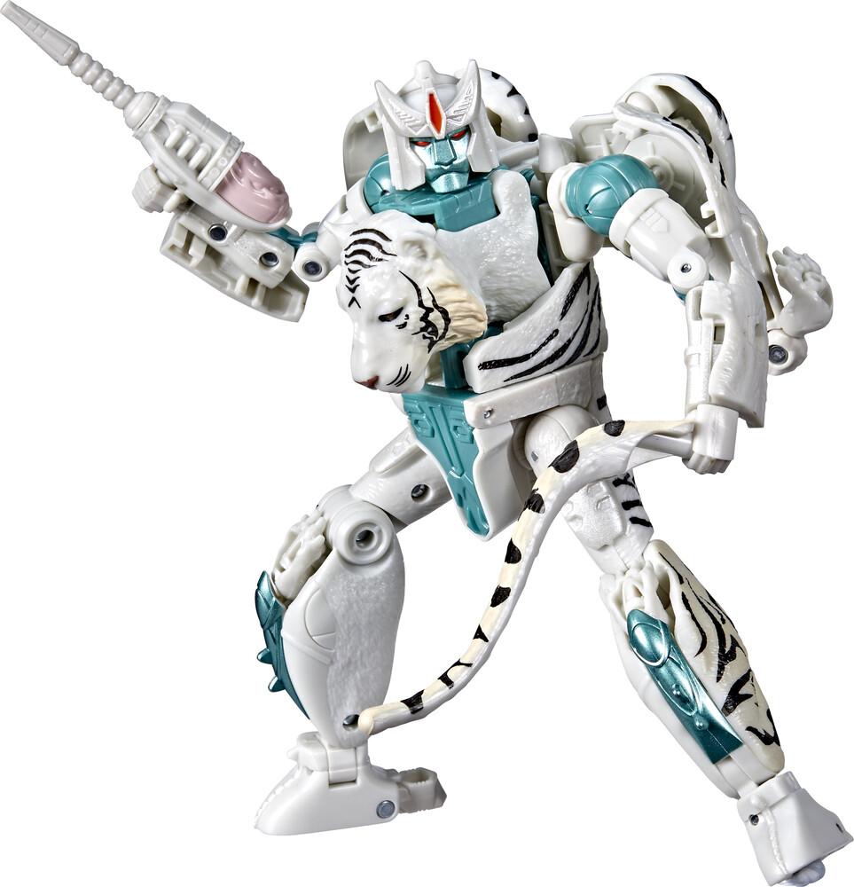 Tra Gen Wfc K Voyager Tigatron - Hasbro Collectibles - Transformers Generations War For Cybertron KVoyager Tigatron