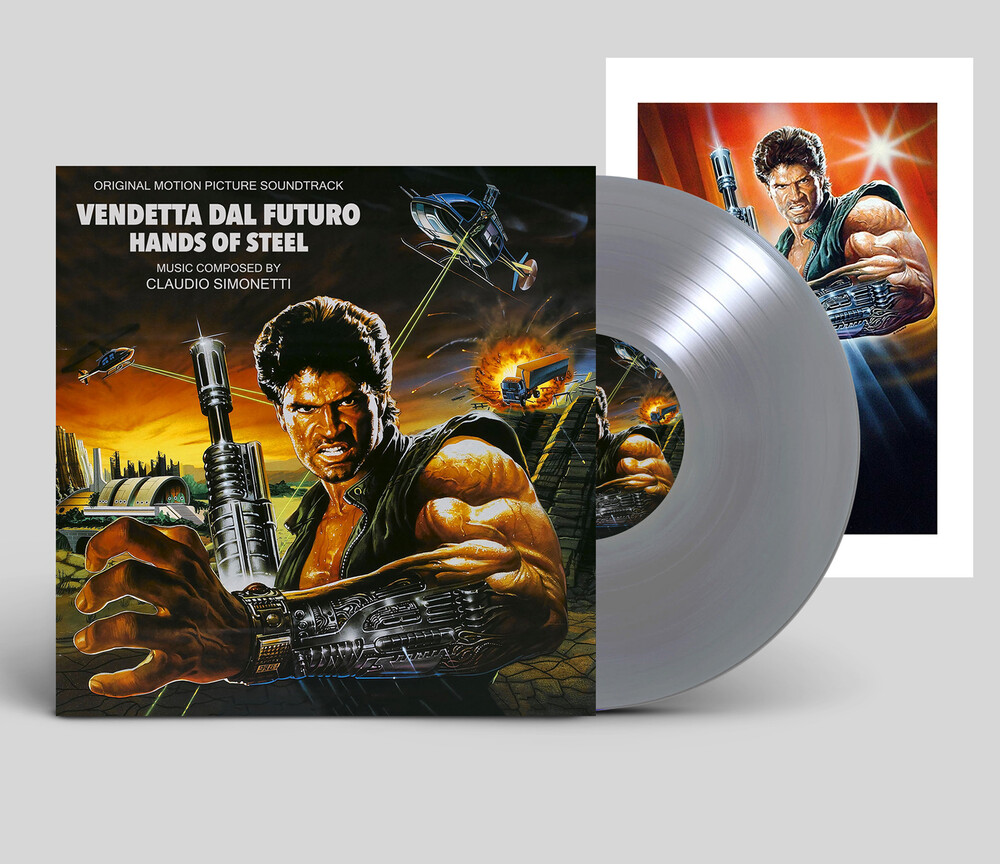Claudio Simonetti  (Ltd) - Hands Of Steel (Vendetta Dal Futuro) - O.S.T.