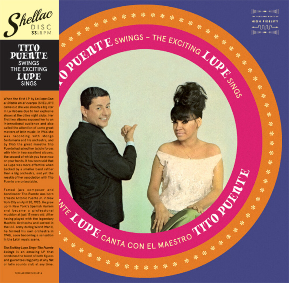 La Lupe / Tito Puente - Tito Puente Swings The Exciting Lupe Sings (Spa)