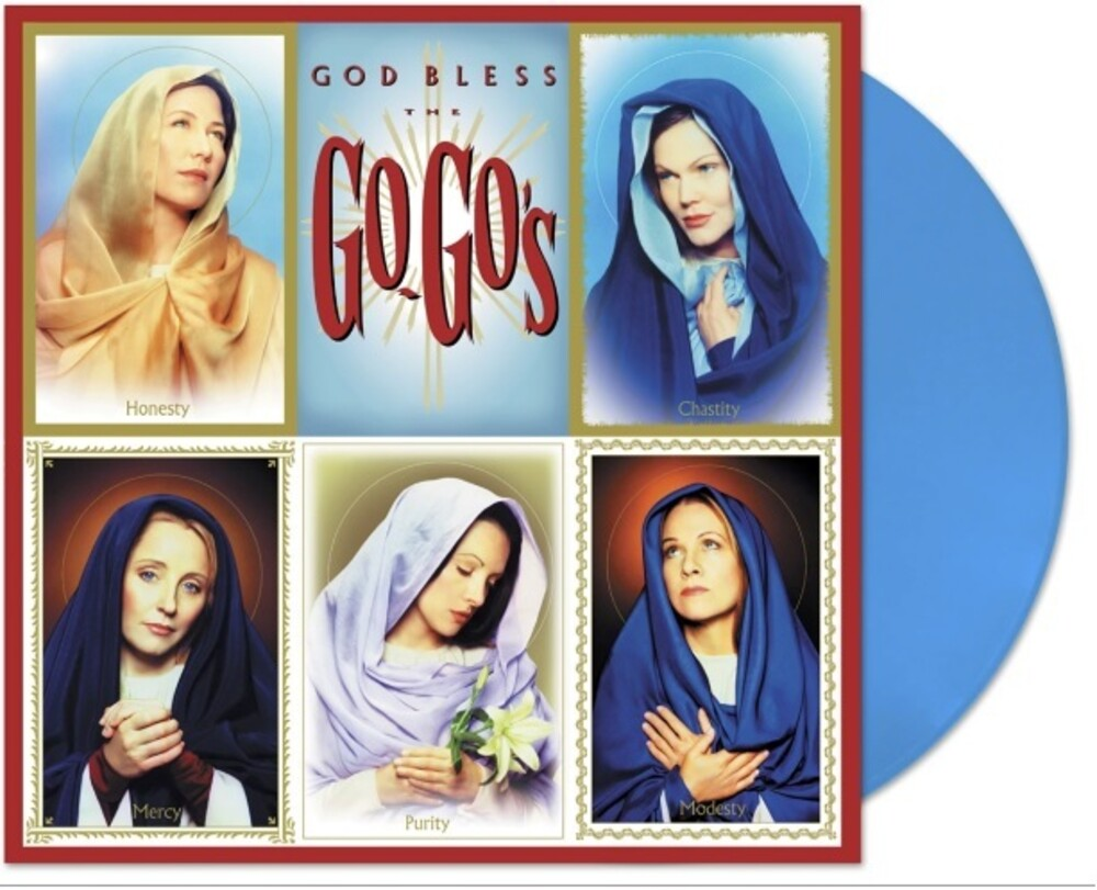 Go-Go's - God Bless The Go-Go's (Blue) [Colored Vinyl] [Limited Edition]