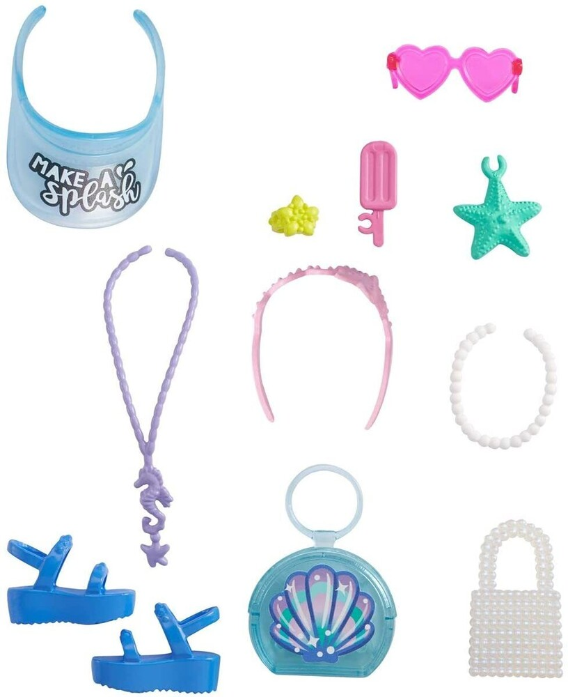 - Mattel - Barbie Fashion Storytelling Pack, Beach