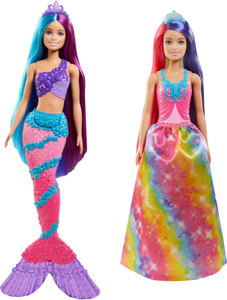 - Mattel - Barbie Long Hair Fantasy Doll Assortment