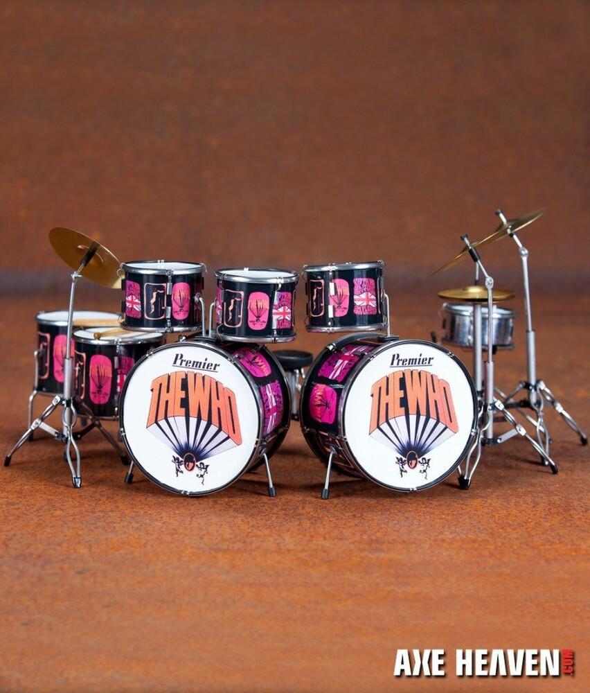 - Keith Moon Who Premier Mini Drum Kit Replica (Fig)