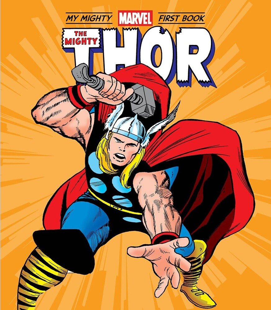 Marvel Entertainment - Mighty Thor My Mighty Marvel First Book (Bobo)
