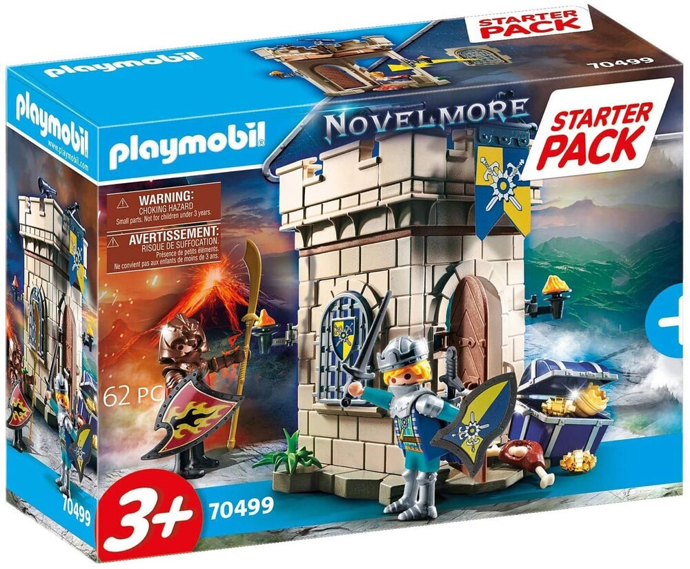 - Novelmore Knights Fortress Starter Pack (Fig)