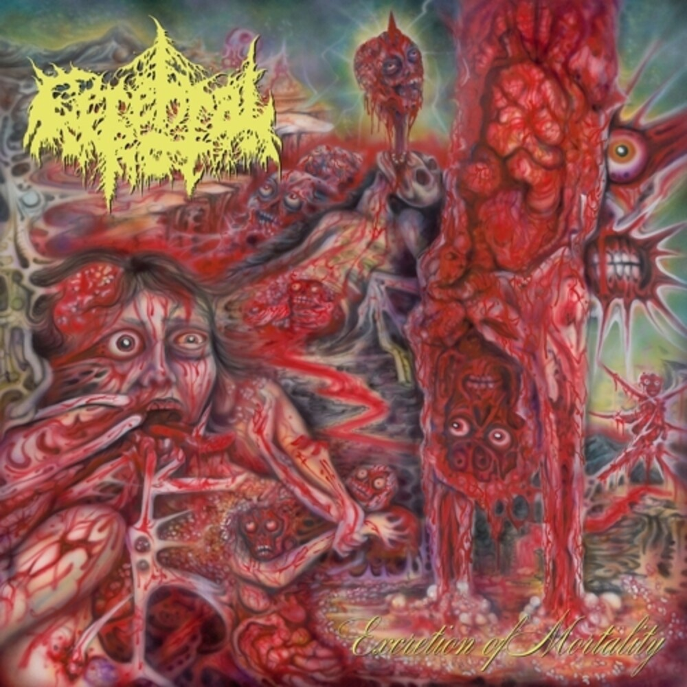 Cerebral Rot - Excretion Of Mortality (Colored Vinyl) [Colored Vinyl]