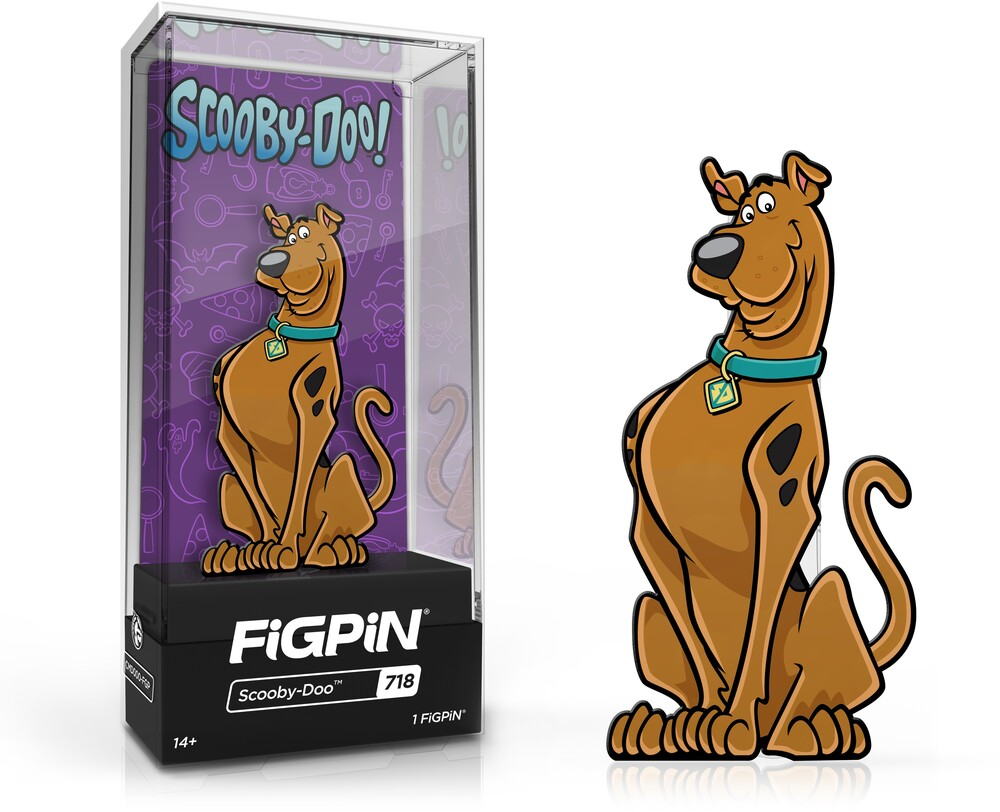Figpin Scooby Doo #718 - Figpin Scooby Doo #718 (Clcb) (Pin)