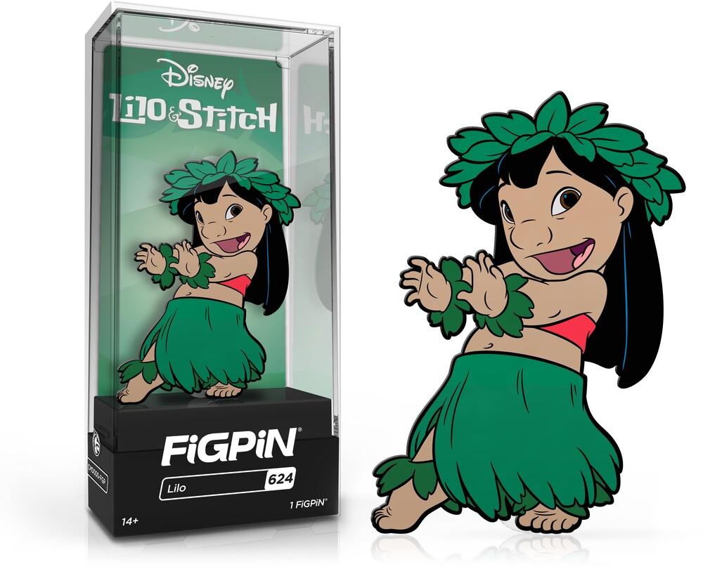 Figpin Disney Lilo & Stitch Lilo #624 - Figpin Disney Lilo & Stitch Lilo #624 (Clcb) (Pin)