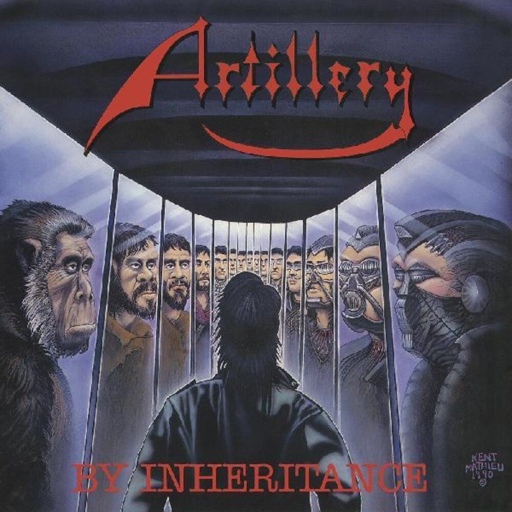 Artillery - By Inheritance (Blue) [Colored Vinyl] (Red)