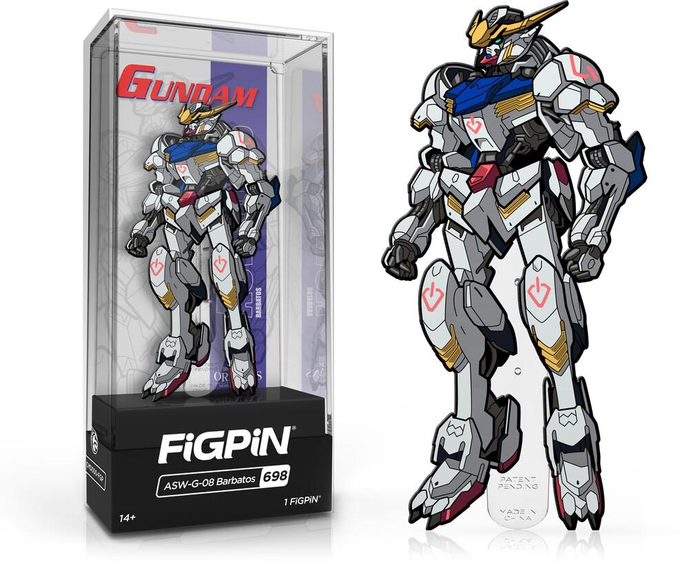 Figpin Gundam Asw-G-08 Barbatos #698 - Figpin Gundam Asw-G-08 Barbatos #698 (Clcb) (Pin)