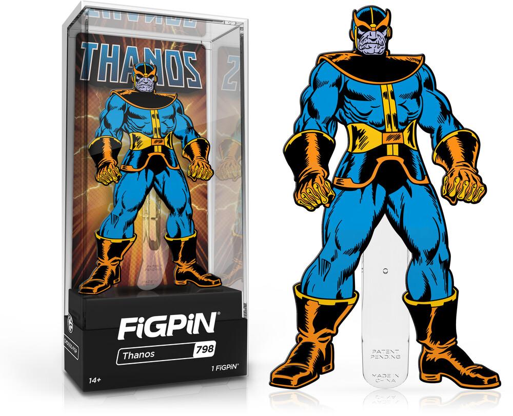 Figpin Marvel Villains Thanos #798 - Figpin Marvel Villains Thanos #798 (Clcb) (Pin)